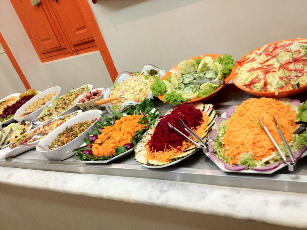 Chef's Table Catering Philadelphia Salad Bar